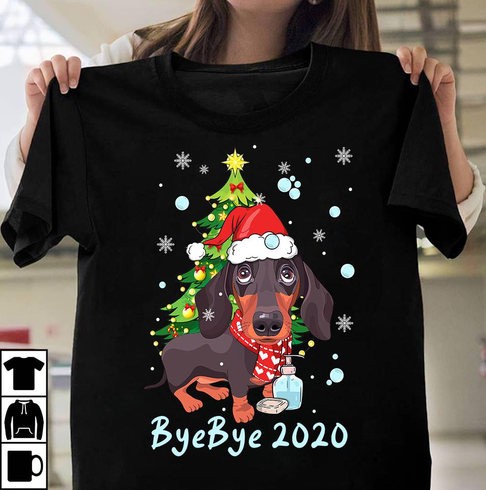 Bye Bye 2020 vector tshirt