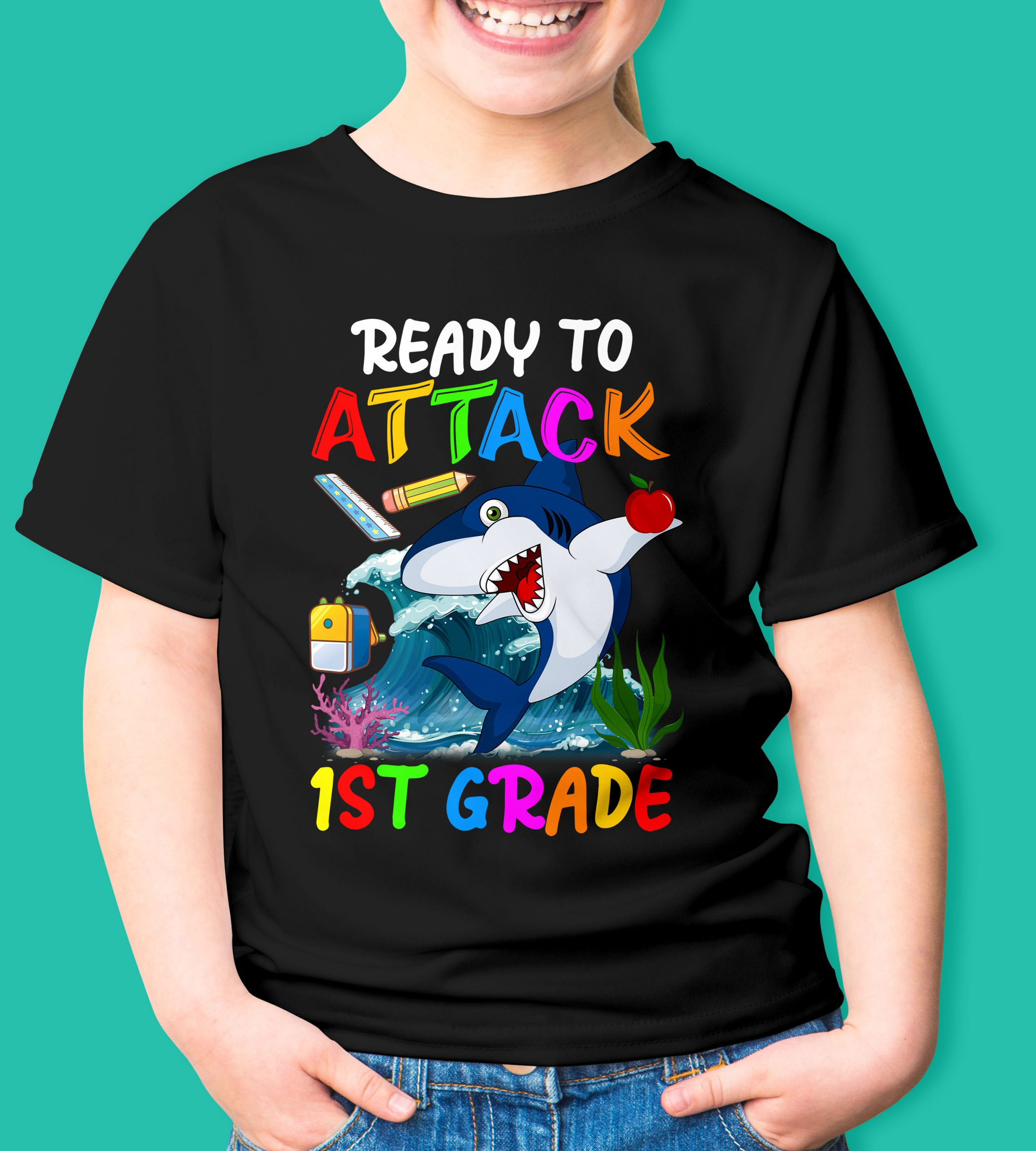 Ready to attack 1st grade