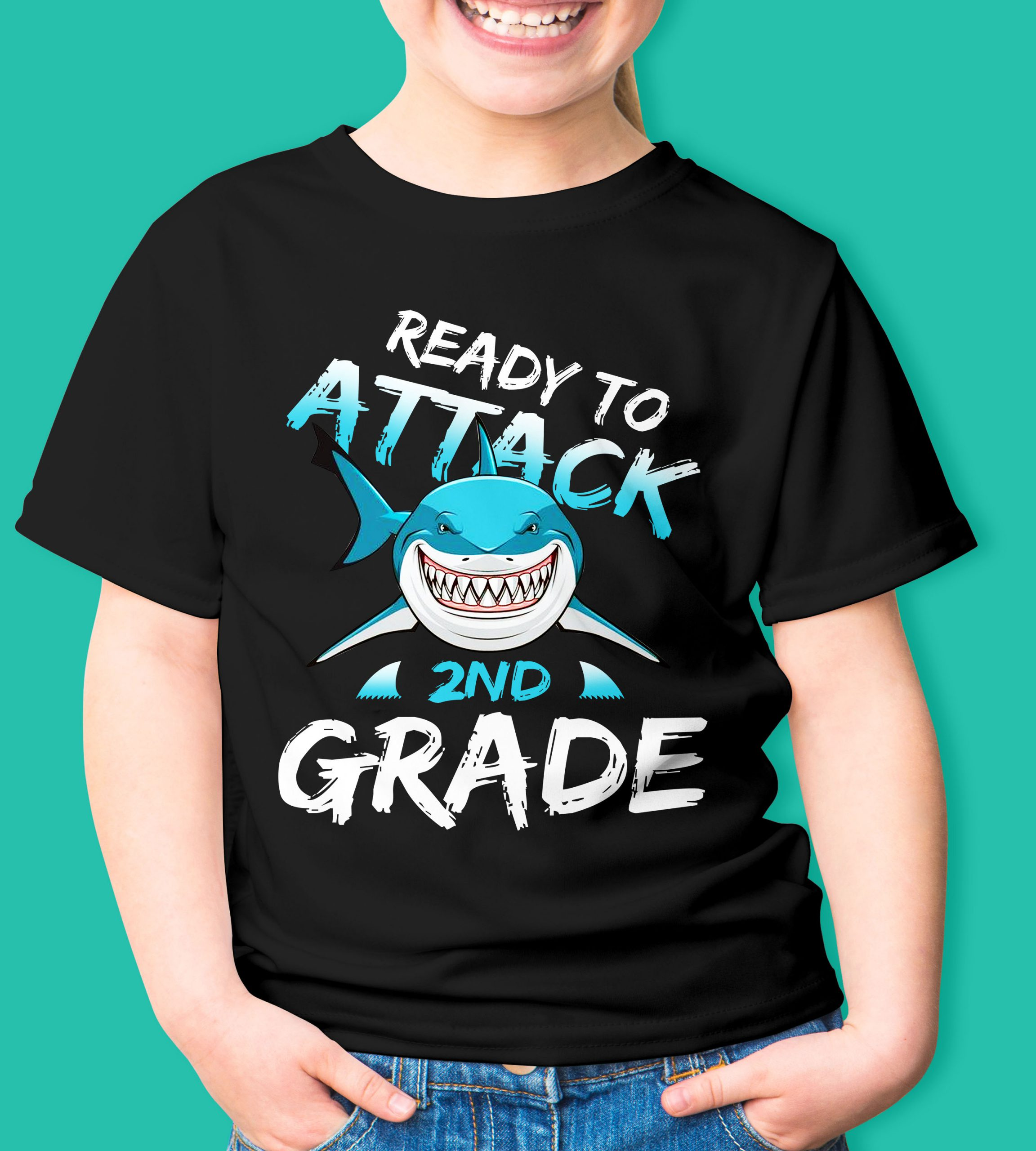 Ready to attack 2nd grade