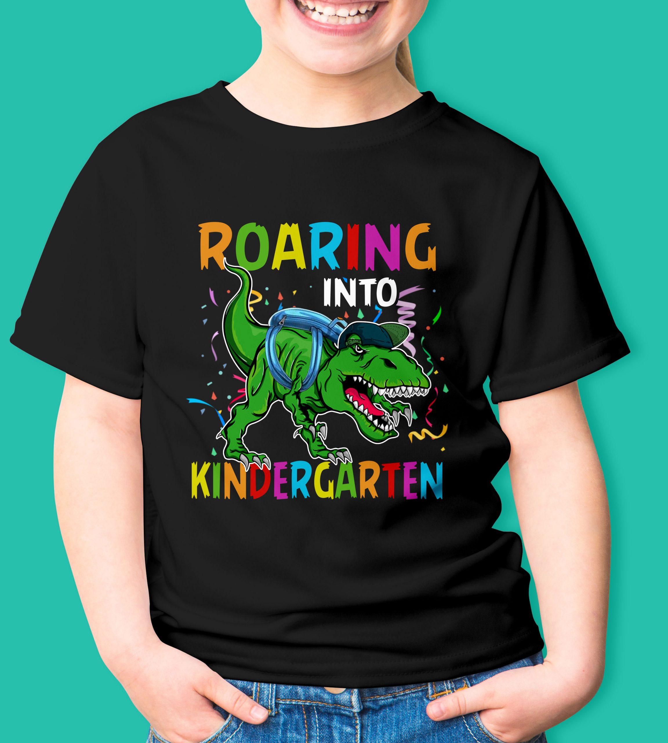 Roaring into kindergarten