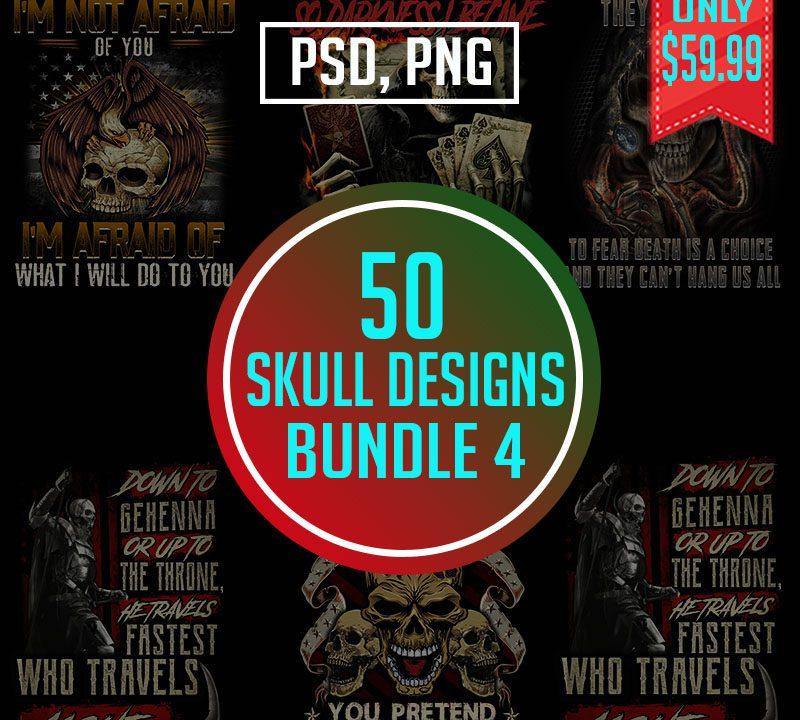Skull Bundle Design