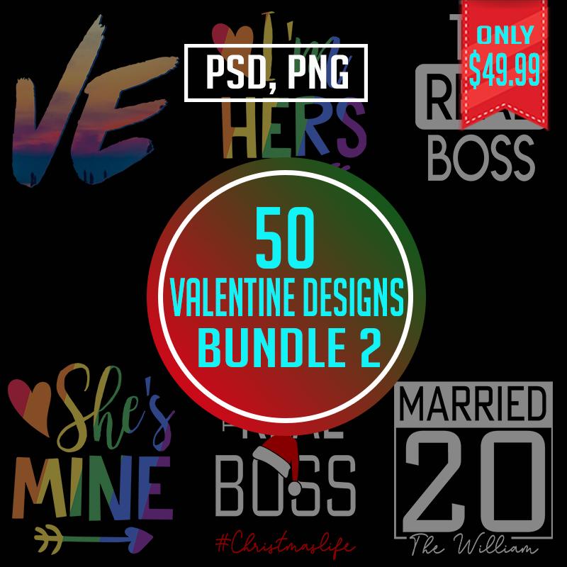 Valentine Couple Bundle Design