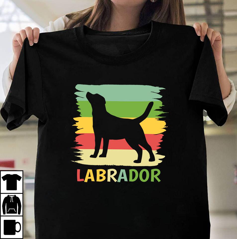 Retro Labrador
