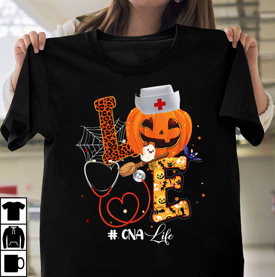 Nurse love halloween