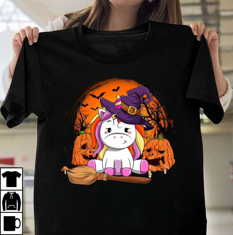 Unicorn Pumpkin Design