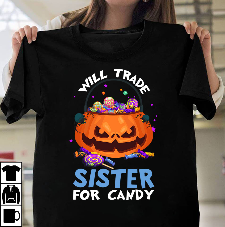 Will trade sister for candy design